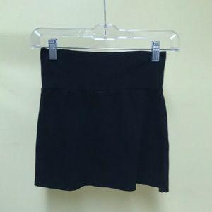 American apparel black mini